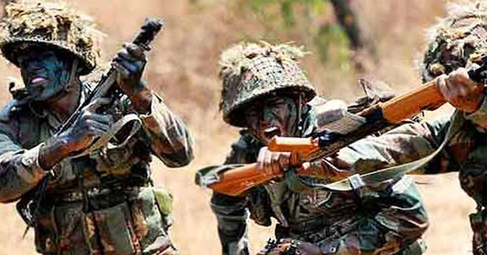 One lakh soldiers